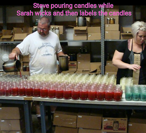 Crowes Candles are made in the USA